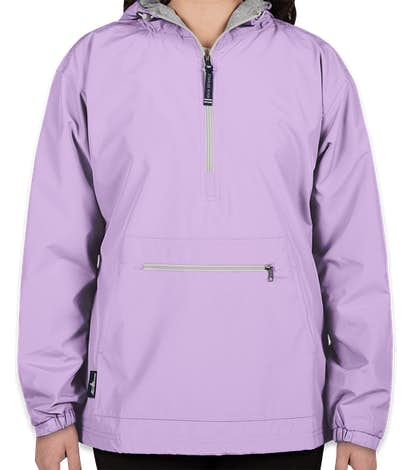 Charles River Women's Classic Hooded Anorak - Lilac