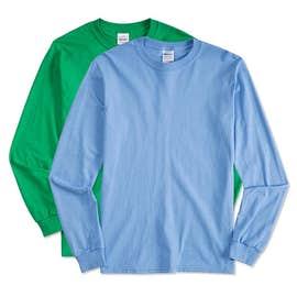 Canada - Gildan 100% Cotton Long Sleeve T-shirt