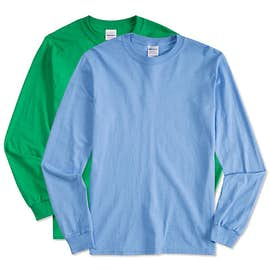 Canada - Gildan 100% Cotton Long Sleeve T-shirt