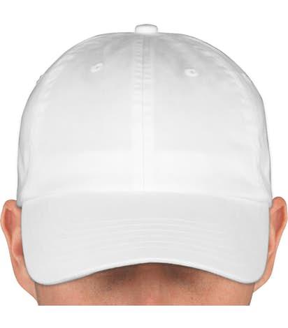 Canada - Valucap Bio-Washed Hat - White