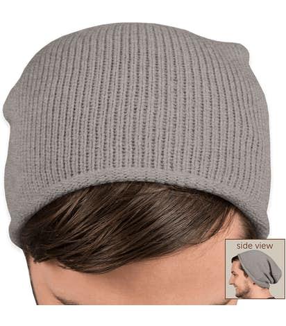 Sportsman Slouchy Knit Beanie - Heather Grey
