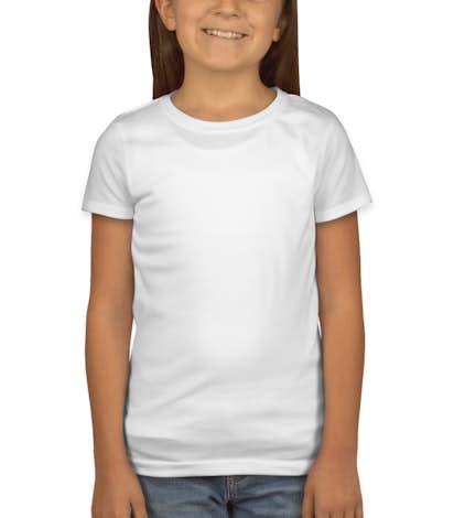 400d2cd9ff1 Custom Next Level Youth Girls Jersey T-shirt - Design Girls Online ...