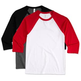 Canada - Bella + Canvas Lightweight Raglan T-shirt