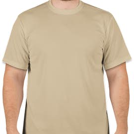 Soffe Military Performance Mesh T-shirt - Color: Sand
