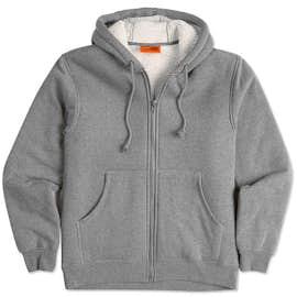 CornerStone DWR Heavyweight Sherpa-Lined Hooded Work Jacket