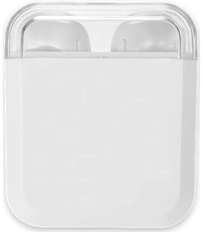 Full Color Braavos Wireless Charging Bluetooth Earbuds - White