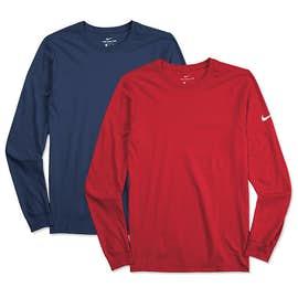 Nike 100% Cotton Long Sleeve T-shirt