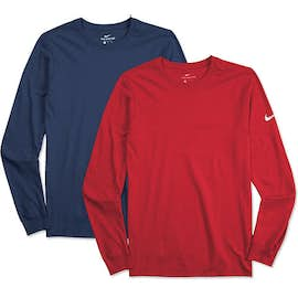 Nike 100% Cotton Long Sleeve T-shirt