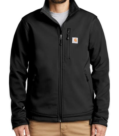 Carhartt Crowley Soft Shell Jacket - Black