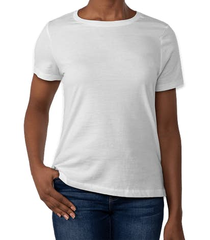 Bella + Canvas Women's Jersey T-shirt - White