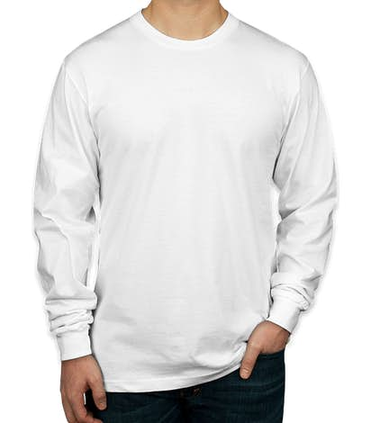 American Apparel Long Sleeve T-shirt - White