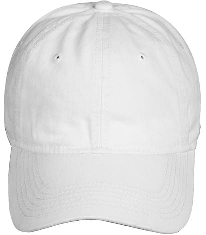 Sportsman Unstructured Washed Hat - White
