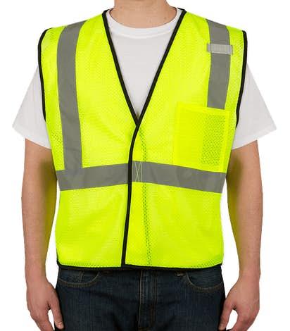ML Kishigo Class 2 Mesh Safety Vest - Lime