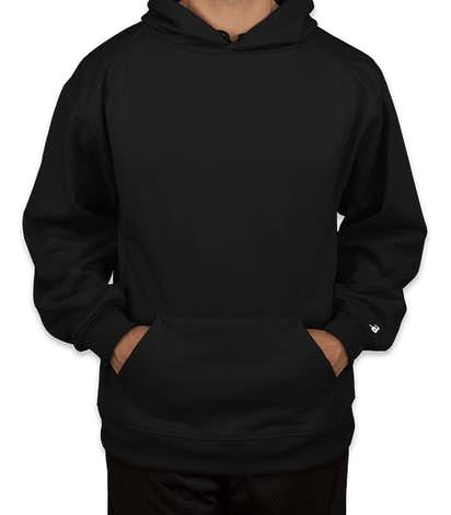 Badger Performance Pullover Hoodie - Black