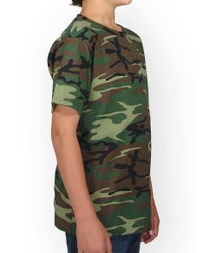 a1a28a2e85 Code 5 Youth Camo T-Shirt - Design Custom Kids Camouflage T-Shirts