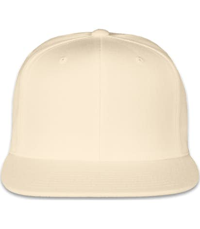 Custom Yupoong Flat Bill Snapback Hat - Design Baseball Caps Online ... 4aa9241fcc40