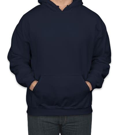 Gildan Midweight 50/50 Pullover Hoodie - Navy