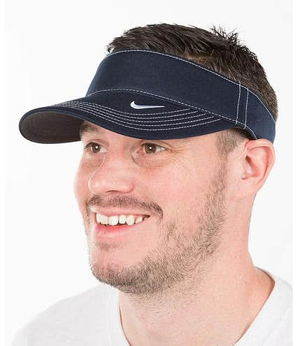 Custom Nike Golf Dri-FIT Swoosh Performance Visor - Design Visors ... 361f2cc2fbc