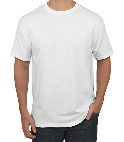 Canada - Jerzees 50/50 T-shirt - White