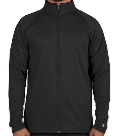 Champion Performance Full Zip Jacket - Black / Black