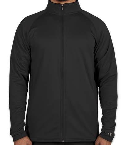 Champion Performance Full Zip Jacket - Black / Black