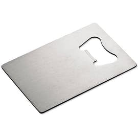 Stainless Steel Credit Card Size Bottle Opener