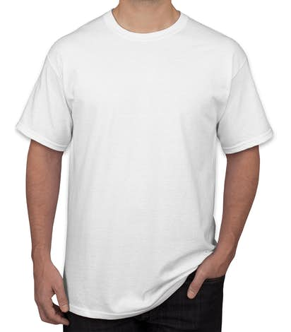 Canada - Gildan Ultra Cotton T-shirt - White