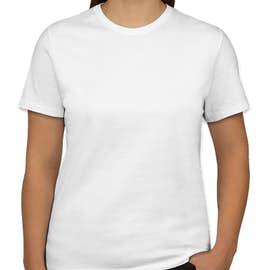 Port & Company Women's Core Cotton T-shirt - Color: White
