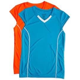 Augusta Women's Contrast V-Neck Volleyball Jersey