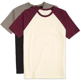 Next Level Short Sleeve Baseball Raglan