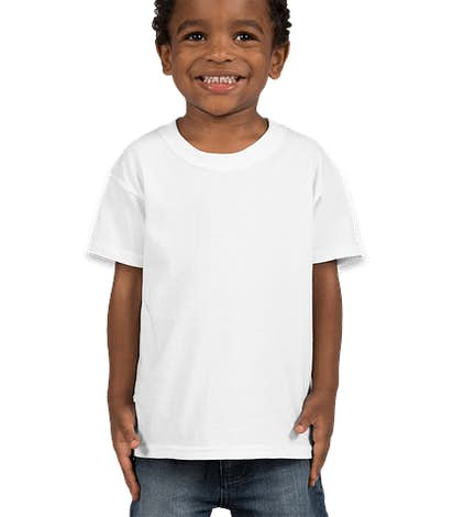 Fruit of the Loom Toddler 100% Cotton T-shirt - White