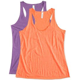 Bella + Canvas Women's Tri-Blend Racerback Tank