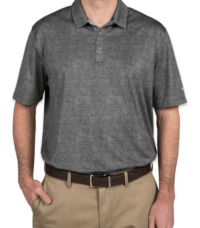 62eb193d4bc Nike Golf Dri-FIT Crosshatch Performance Polo - Cool Grey / Anthracite