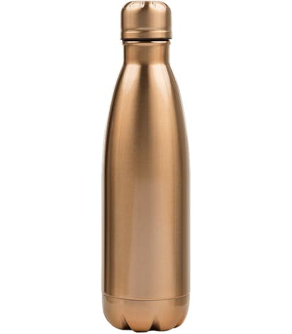 17 oz. Copper Vacuum Insulated Water Bottle - Rose Gold
