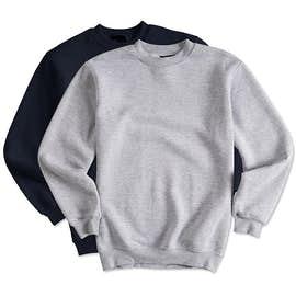 Bayside USA-Made Heavyweight Crewneck Sweatshirt