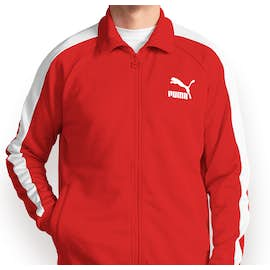Canada - Puma Iconic T7 Track Jacket - Color: High Risk Red