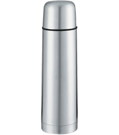 17 oz. Vacuum Bottle with Leak-Proof Cap - Stainless Steel