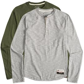 Champion Authentic Slub Long Sleeve Henley