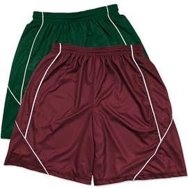 Sport-Tek Micro-Mesh Reversible Contrast Shorts