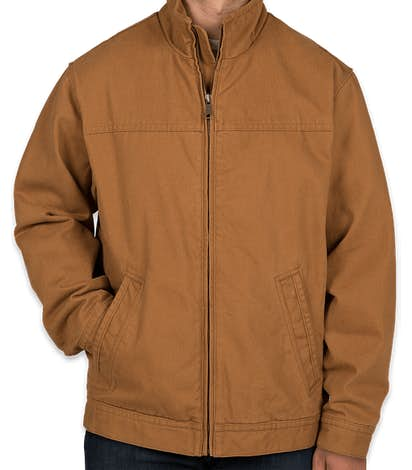 CornerStone Duck Cloth Flannel-Lined Work Jacket - Duck Brown