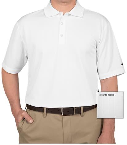 Nike Golf Dri-FIT Textured Performance Polo - White