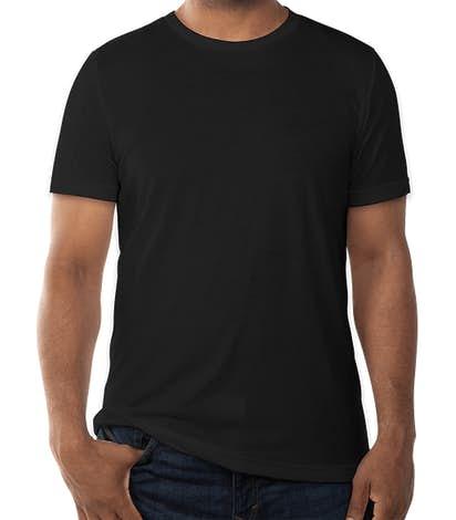 Bella + Canvas Tri-Blend T-shirt - Solid Black Tri-Blend