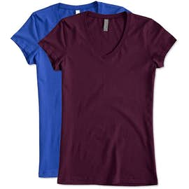 Canada - Bella + Canvas Juniors Jersey V-neck T-shirt