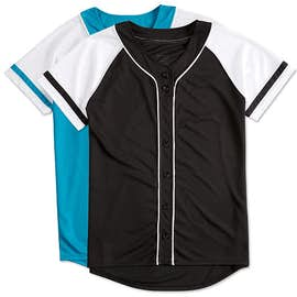 Augusta Women's Winner Softball Jersey