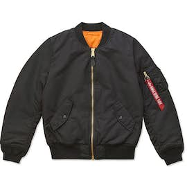 Alpha Industries Women's MA-1 Flight Jacket