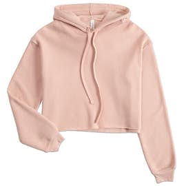 Bella + Canvas Women's Drop Shoulder Cropped Hoodie
