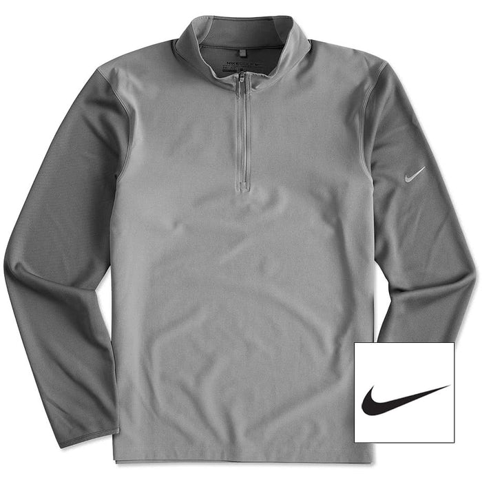 28bcbe2662f Custom Nike Golf Dri-FIT Lightweight Quarter Zip Pullover - Design ...