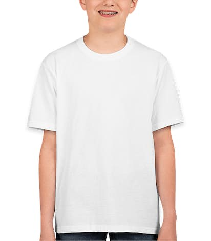 Fruit of the Loom Youth 100% Cotton T-shirt - White