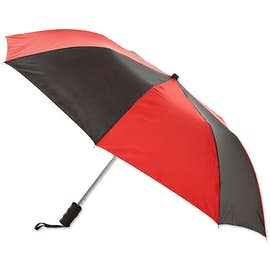 "Arc Auto Open Multi-Tone Telescopic Folding 44"" Umbrella"