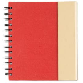 Organized Lock-it Spiral Notebook w/ Pen